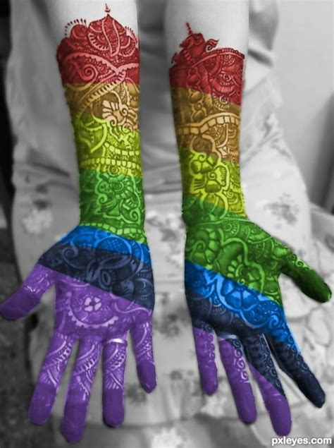 how to make colored henna tattoo colored henna so pretty henna henna