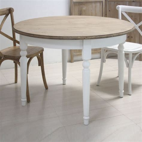tavoli stile shabby tavolo tondo bianco shabby chic etnico outlet mobili etnici