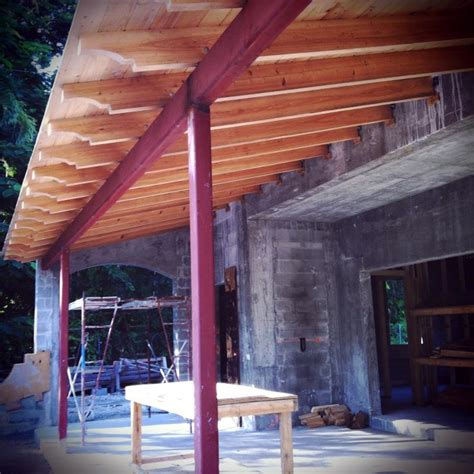 This Old Coconut Grove Cypress Ceiling For Covered Porch
