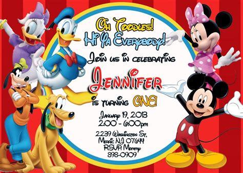 mickey mouse clubhouse party invitations free delli beriberi co