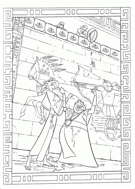 coloring pages prince of egypt prince of egypt coloring pages coloringpagesabc com