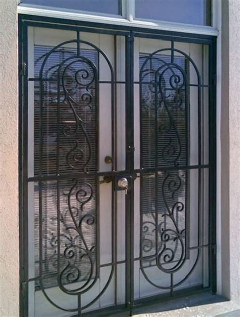 madrid style patio gate metalex security doors