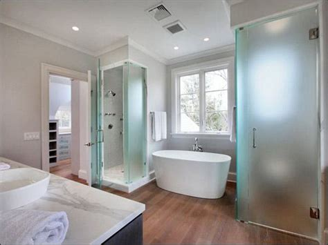 Modern Bathroom Layouts by Creative Design Master Bathroom Layout Home Ideas