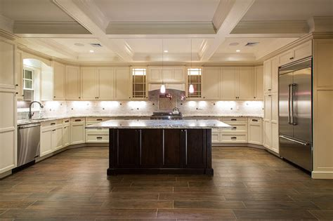 wood look tile for kitchen entry den possibilities are endless kitchen new york by