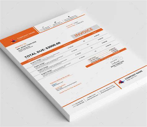 invoice template graphic design best of design invoice template