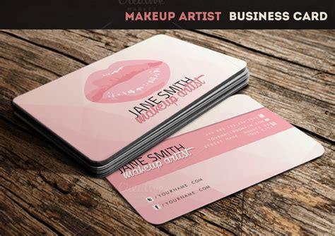 makeup artist business card template psd makeup artist business card business card templates on