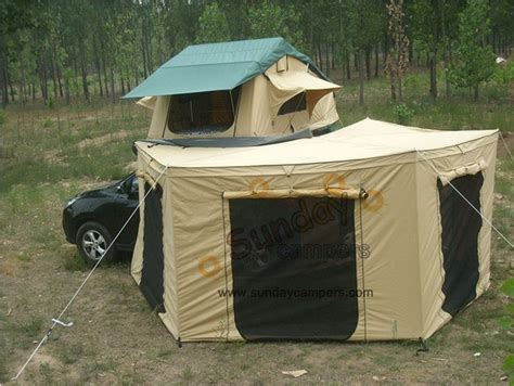 vehicle tents awnings china car roof top tent with awning rv top tent caravans