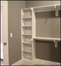 new home master bedroom closet storage and builtin