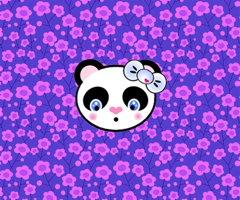 Kawaii Panda Wallpaper   WallpaperSafari