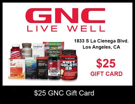 Gnc Gift Cards - 25 gnc gift card closed uc gym