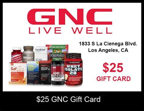 Gnc Gift Card - 25 gnc gift card closed uc gym
