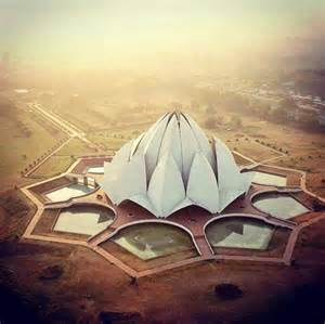Top View Of Lotus Temple Dear Mr Modi You Missed Out On These Holidify