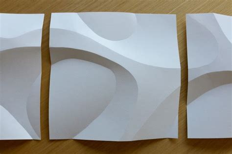 Curved Paper Folding - curved paper folding 3