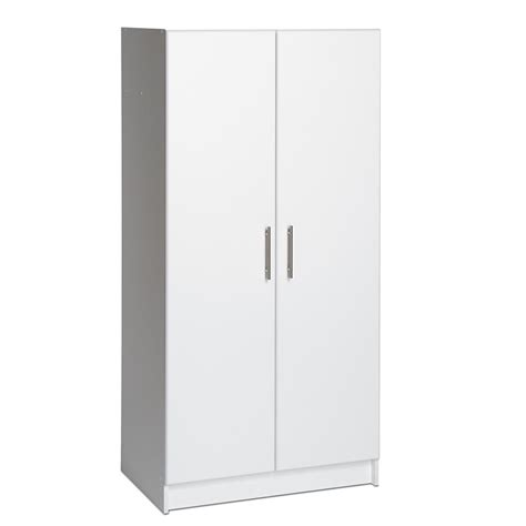 Prepac 32 In Elite Storage Cabinet Wes 3264 The Home Depot Home Depot Storage Cabinets With Doors