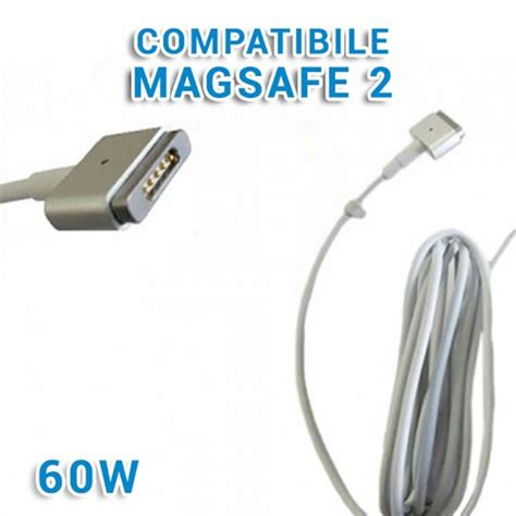 alimentatore compatibile macbook alimentatore magsafe 2 60w compatibile apple macbook pro