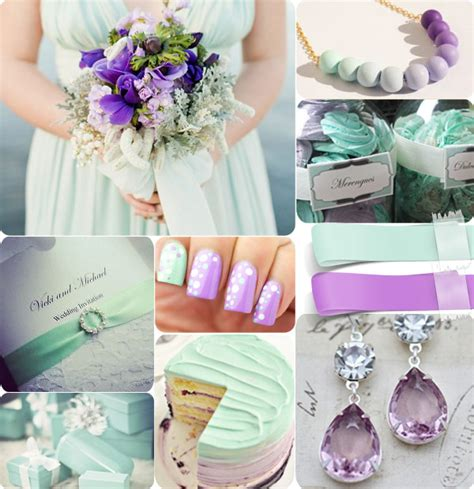 mint and purple wedding mint green dress with dots tulle chantilly wedding