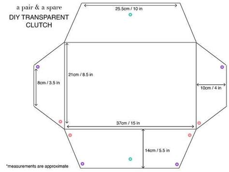 Baglis Transparent Clutch best 25 transparent clutch ideas on diy bags