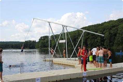 boat dock rope swing activities c jewell ymca