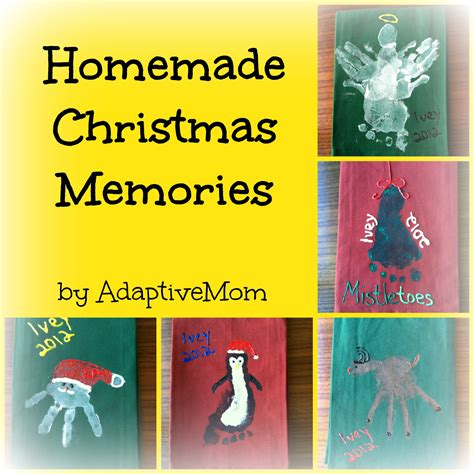 homemade christmas memories adaptive mom dish towels