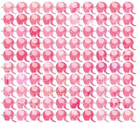 pink elephant wallpaper one hundred pink elephants by panisowa on deviantart