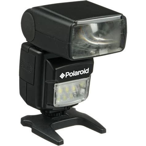 canon polaroid polaroid pl 160 dual flash for canon cameras pl160dc b h photo