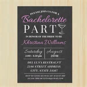bachelorette printable invitation partytimedecor cards on artfire