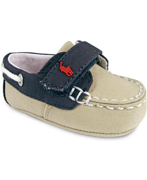 ralph baby shoes ralph baby boys sander ez shoes macy s