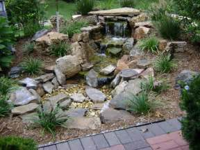 Rock Garden Pond Weilbacher Landscaping Koi Ponds Rivers Water Features And Pondless Waterfalls