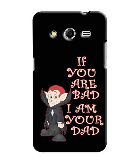 Samsung Core2 G355h Casing Hardcase snooky shell back cover for samsung galaxy 2 sm g355h black designer