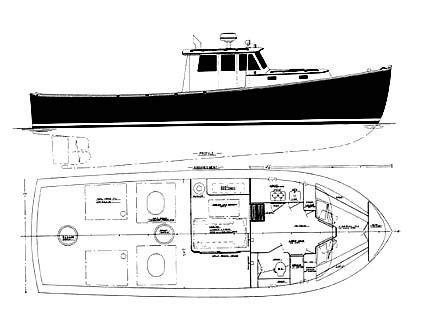lobster boat plans motorboats pinterest boat plans
