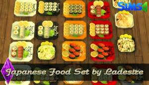 Sims 3 Bedroom Decor Japanese Food Set At Ladesire 187 Sims 4 Updates