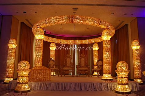 Marriage Home Decoration by Wedding Mandaps Exclusive Events Makers Stage