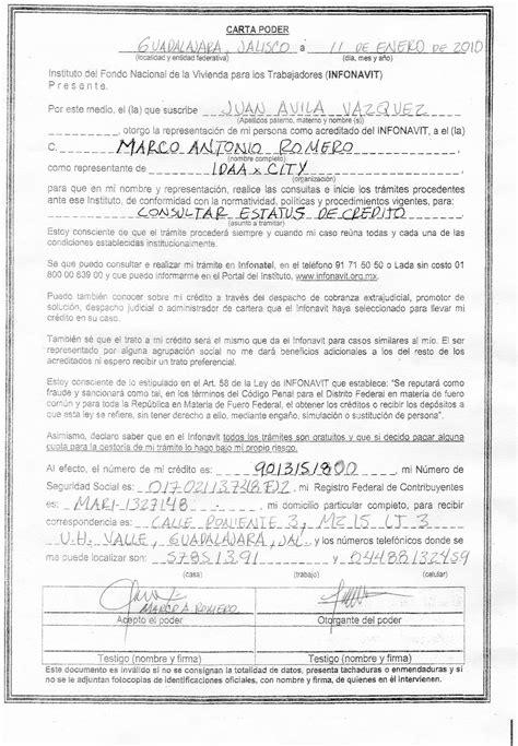 que es una carta poder notarial para pleitos y cobranzas ejemplo de poder general para pleitos y cobranzas