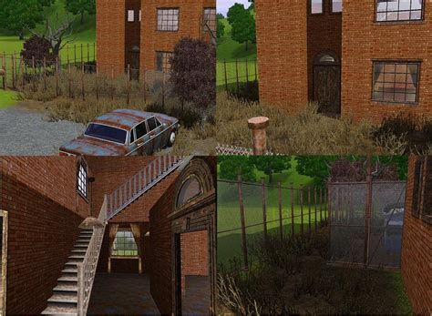 Level Furnished Living by Mod The Sims Abandoned Warehouse