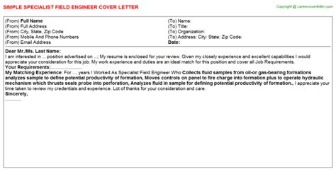 halliburton field engineer cover letters