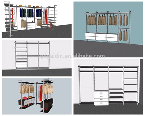 Hanging Rails For Walk In Wardrobes by Extendable Wardrobe Pole And Corner Clothes Rail Walk In