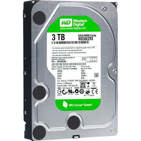 Disk Wdc 5 Tb 64mb Sata 3 wd green 3tb sata3 64mb disco duro