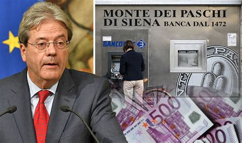 monte dei paschi personale italy bank crisis monte dei paschi to run out of in