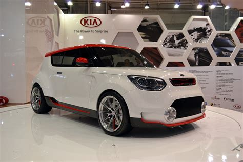 Kia Performance Center 2012 Aims Kia Track Ster Concept Forcegt