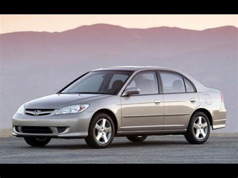 how to work on cars 2004 honda civic navigation system 2004 honda civic ex review 1 7 l 4 cylinder youtube
