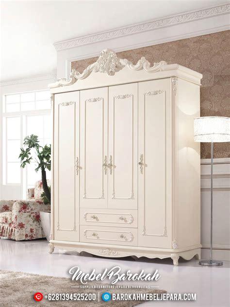 Ikea Hensvik Lemari Pakaian Anak Putih lemari pakaian mewah putih klasik pintu 4 model eropa terbaru jk 0099 jual kamar set jepara
