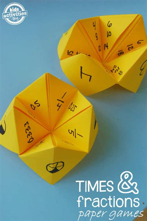 Paper Folding Activities In Mathematics - 10 educational crafts tinyme