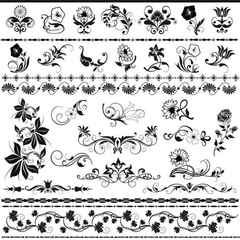 lace pattern ai free beautiful lace pattern vector 03 download free vectors