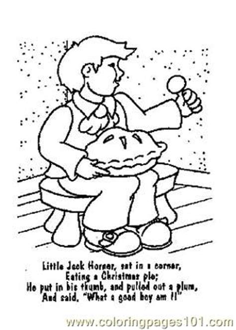 Nursery Rhyme Coloring Pages Pdf | nursery rhymes picture 6 coloring page free school