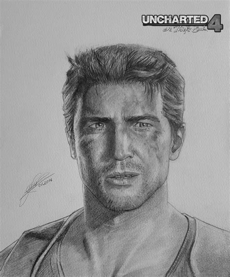 Uncharted 4 Sketches nathan uncharted 4 a thief s end by zigartwork on