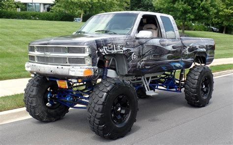 monster truck show ta 1992 chevrolet k pickup 1500 custom monster show truck for