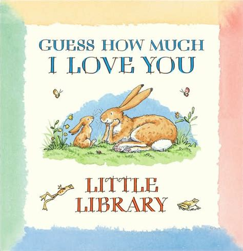 libro guess how much i guess how much i love you little library by sam mcbratney anita jeram board book barnes