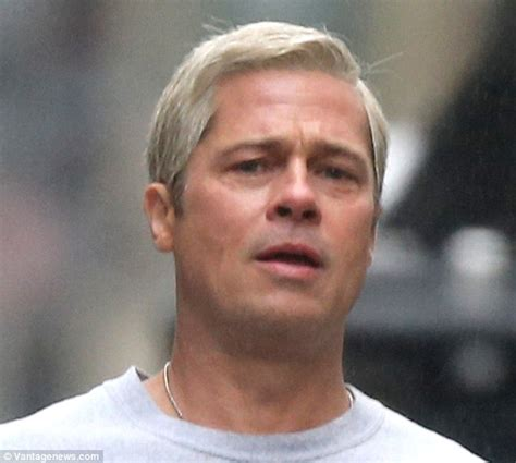 Brad Get Their St On In Oz by Brad Pitt Displays Muscular Legs In Miniscule Sports
