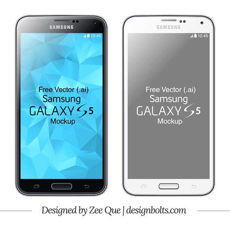 Format Video Galaxy S5 | free vector samsung galaxy s5 mockup in ai format