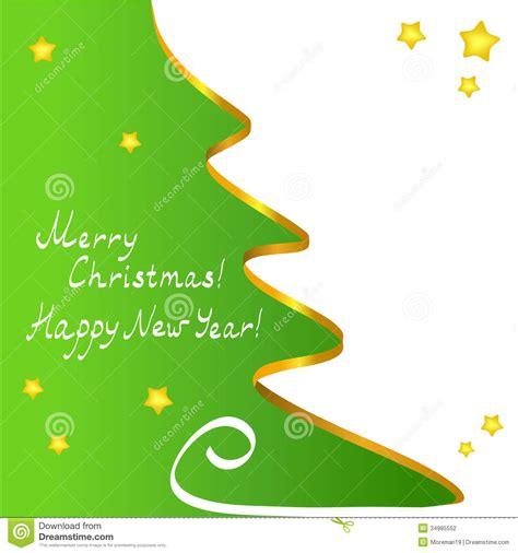vector del arbol de navidad fotografia de archivo libre de regalias tarjeta de navidad con un 225 rbol del contorno fotograf 237 a de